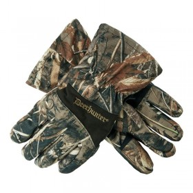 Deerhunter Muflon MAX5 Winter Gloves - zimné rukavice - Deerhunter Muflon Gloves MAX5 sú zimné kamuflážne poľovnícke rukavice. Sú to najlepšie rukavice v našej ponuke, vďaka membráne Deer-Tex ® a Thinsulate.