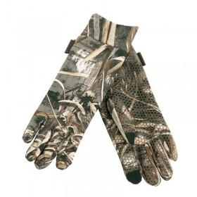 Deerhunter MAX 5 Gloves w. Silicone Dots - kamuflážne rukavice 185d916081