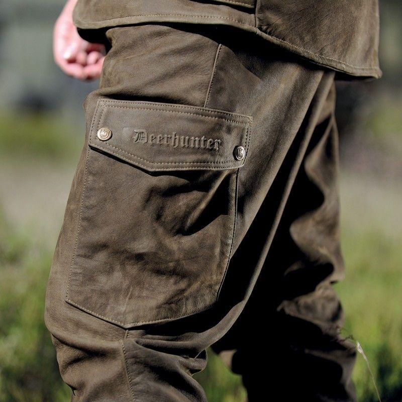 c5cc7e378 ... Obrázok číslo 2: Deerhunter Strasbourg Leather Trousers - kožené  nohavice ...