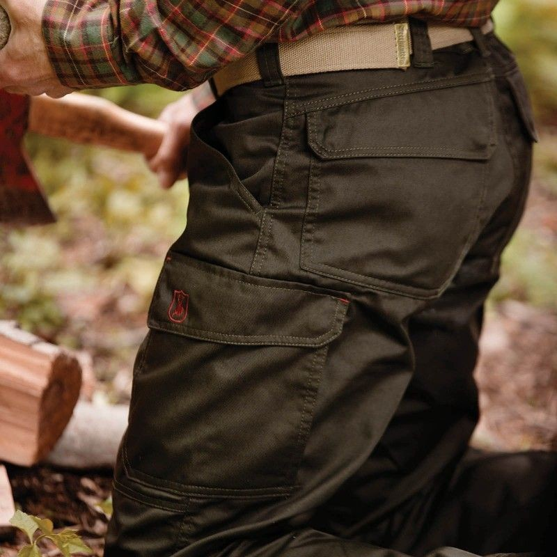 8bda08a32 ... Obrázok číslo 3: Deerhunter Rogaland Trousers Brown - lovecké nohavice  ...